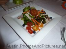 Salad with candied walnuts at Hudson's on the Bend Restaurant.jpg