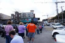 Over a hundred people waiting to get into Franklin's Barbeque in Austin at 1046 AM.jpg