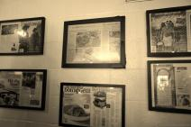 More framed newspaper articles and magazine stories inside Franklin BBQ in Austin.jpg