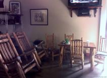 Rustic furniture decor of Opie's BBQ.jpg