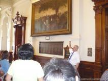 Texas State Capitol building tour guide at work.jpg