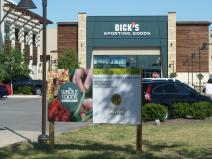 Dick's Sporting Good with Whole Foods coming soon sign Hill Country Galleria.jpg